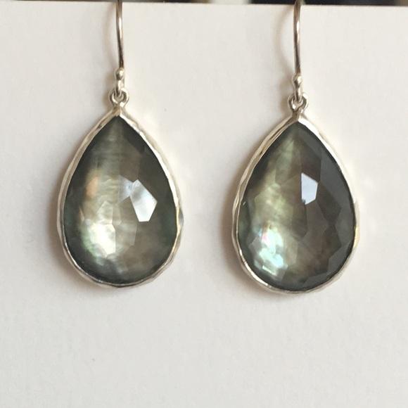 93470074c Ippolita Jewelry   Teardrop Gray Doublet Mop 925 Earrings   Poshmark
